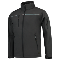 SOFTSHELL TRICORP LUXE 402006 TSJ2000 GRIJS