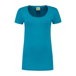 T-SHIRT L&S 1268 VARIETY TURQUOISE